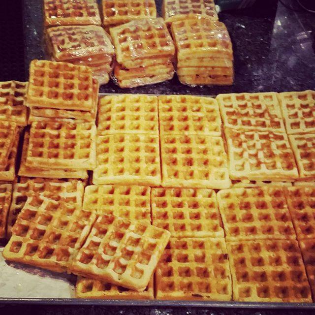 Yummy goodness! gf waffles
